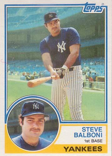 January 16 Happy Birthday Steve Balboni 171 Pinstripe