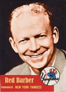 Yankees Red Barber 1953T